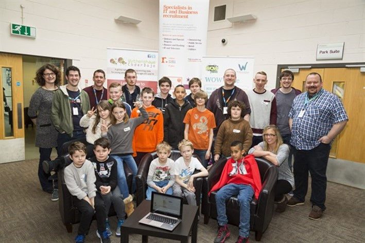 Rullion works in partnership with CoderDojo