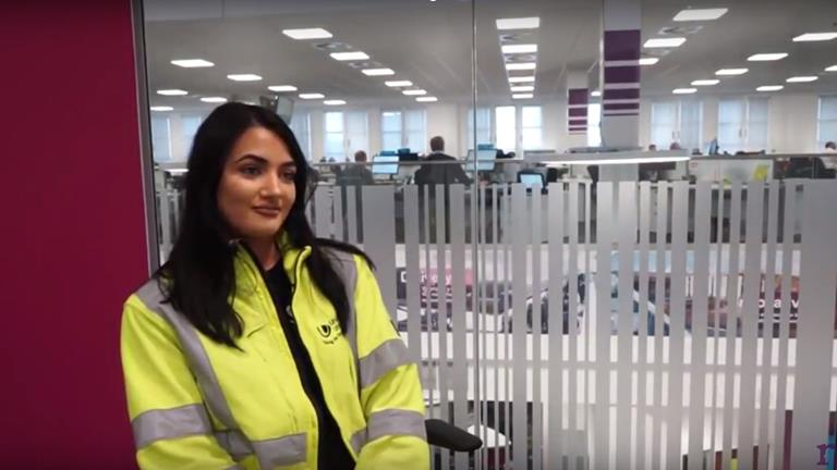 Rullion interviews Charlotte, an Electrical Network Asset Engineer at United Utilities