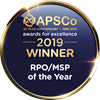 APSCo RPO/MSP of the year