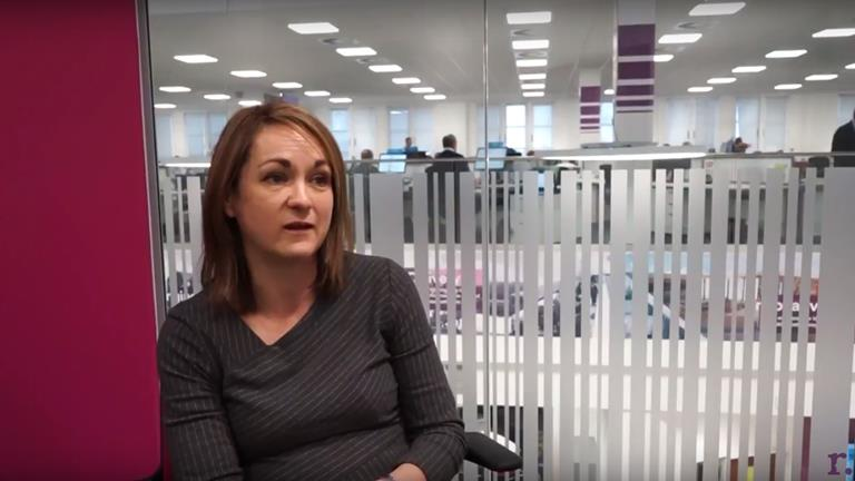 Rullion interviews Joanne, a Chemical Engineer at United Utilities