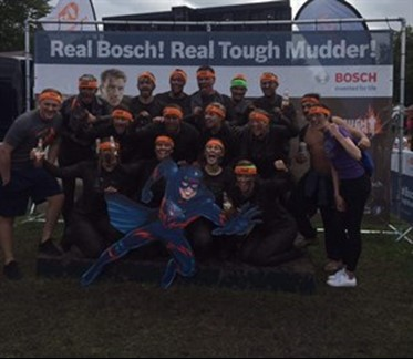 Rullion Team takes part in North West Tough  Mudder